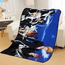 Blankets Beds Travel for Throw Soft Summer Anime Big-Size 145x200cm Custom Bleach