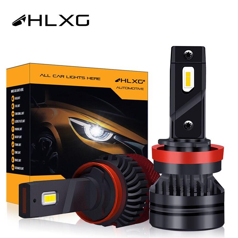 Светодиодный h11 6000 K 25000LM F5C F3C H1 H11 880 881 5202 h4 H16 9012 HB3 9005 авто лампа 9006 HB4 головной светильник автомобильный светильник HLXG H7 светодиодный лампы