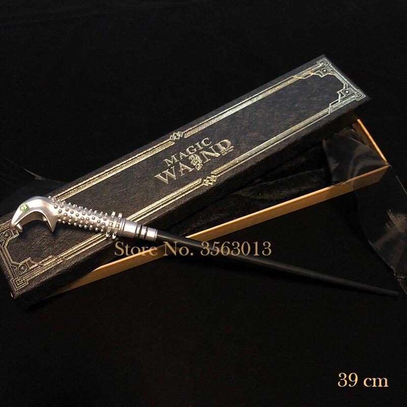 39cm Metal Core Lucius Malfoy Magic Wand/ Harri Magical Wand/ High Quality Ribbon Gift Box Packing