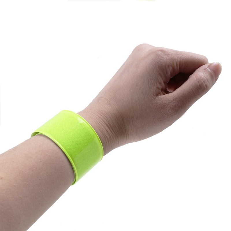 Pair SeenFit High Visibility Reflective Sports Wrist Bands Size to Fit-