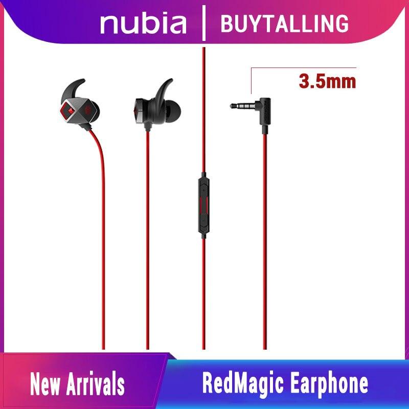 Nubia magia vermelha fone de ouvido jogos fone de ouvido para redmagic 5g tipo-c/3.5mm fone de ouvido