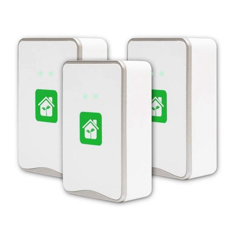 Генератор отрицательных ионов, подключаемый очиститель воздуха с самым высоким выходом-до 32 миллионов отрицательных ионов/сек, 3 упаковки ш...