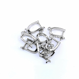 Image 3 - 10Pairs, Fashion Jewelry Accessories, Earring Clasps, 4colors, Can Wholesale