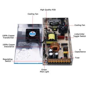 Image 2 - 高速 500 ワットブラシレス ER11 スピンドルモータ + 55 ミリメートルクランプブラケット + 電源 + ドライバー CNC ルータ工作機械