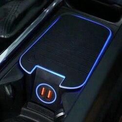 ل فولفو XC90 S90 V90 XC60 V60 C60 S60 2018 2019 2020 15 واط سيارة تشى اللاسلكية شحن شاحن الهاتف شحن لوحة اكسسوارات