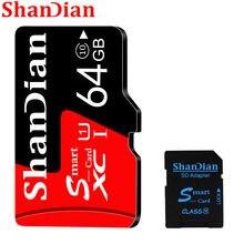 Expansão vermelha 8gb 16gb 32gb 64gb 128gb presente livre vem com adaptador de cartão sd