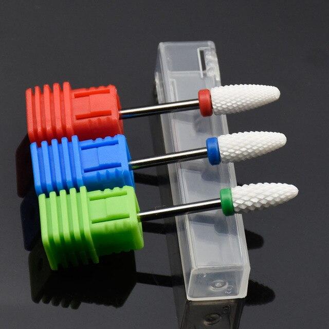 "Nail Drill Bits 25 Type 3/32"" Tungsten Carbide Electric Drill bits Manicure Machine Accessories Nail Files Manicure Mill 5"