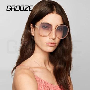 GAOOZE okulary przeciwsłoneczne damskie damskie okulary przeciwsłoneczne damskie okrągłe okulary przeciwsłoneczne w stylu Vintage okulary przeciwsłoneczne damskie Oculos LXD145 tanie i dobre opinie Kobiety Okrągły Dla dorosłych Z tworzywa sztucznego UV400 65mm Akrylowe YJ-LXD145 Party Sports Driving Fishing Vacation