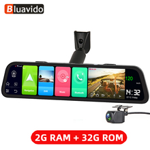 Bluavido 4G Android 8.1 Mirror DVR 2GB RAM 32GB ROM GPS Navigation Car DVR Rear view Mirror 1080P Dash Cam Video Camera Recorder