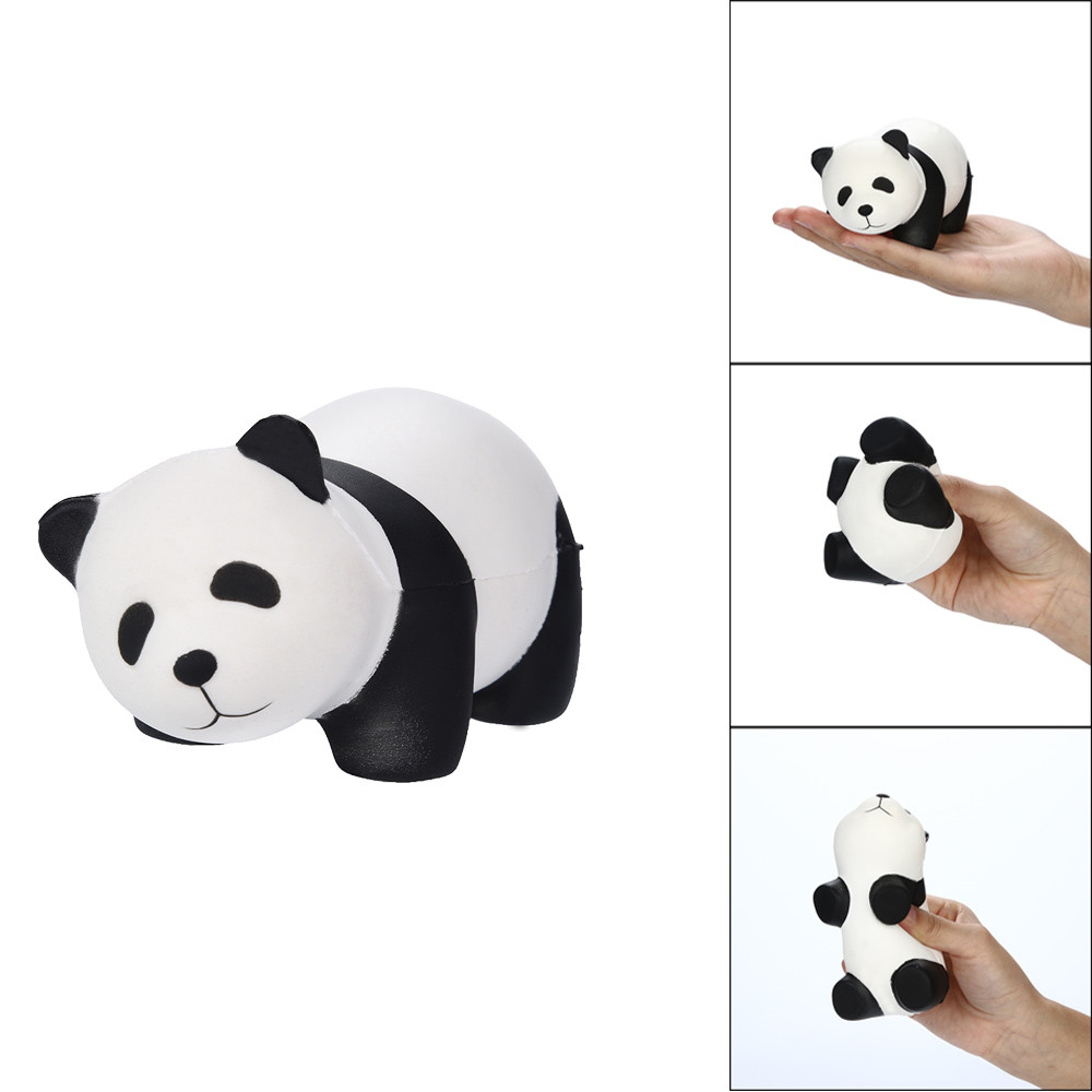 Squishies Lovely Panda Scented Slow Rising Squeeze Toys Stress Reliever Toys  0905