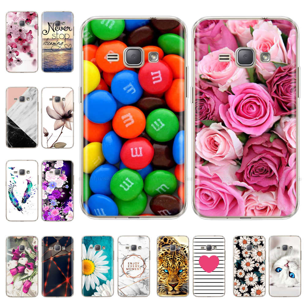 Siliconen telefoon Geval Voor Samsung Galaxy J1 2016 J120 J120F SM-J120F Covers zachte TPU Phone Back cover voor Samsung J1 6 2016 fundas