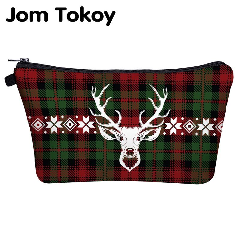 Jom Tokoy Cosmetic Travel Bag Christmas Gift Makeup Bags Organizer Bag Women Beauty Bag Hzb1015