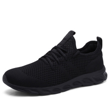 2020 Light Mens Running Shoes Comfortable Breathable Men's Sneaker Casual Antiskid and Wear-resistant jogging Men Sport Shoes