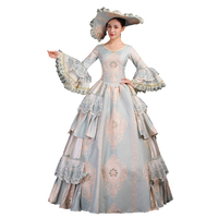 High end Court Rococo Baroque Marie Antoinette Ball Dresses 18th Century Renaissance Historical Period Dress Gown for Women