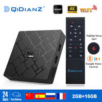 NUOVO, HK1 mini Smart TV BOX Android 9.0 2GB + 16GB RK3229 Quad-Core WIFI 2.4G 4K 3D HK1mini Google Netflix Set-Top Box