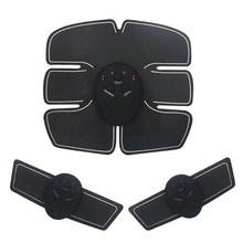 Электрический стимулятор мышц, стимуляция живота, тренажер для мышц, тренажер для похудения, тренажер для сжигания жира, фитнес-массаж