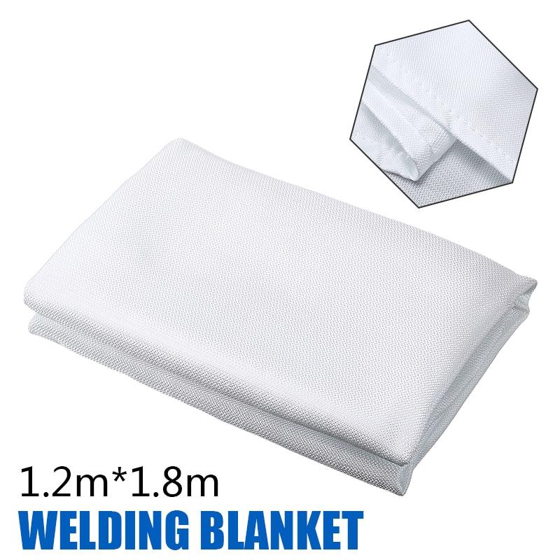 1 8m 1 2m Flame Retardant Emergency Survival Shelter Fire Welding Blanket Fiberglass Safety Cover Fire Emergency Blanket