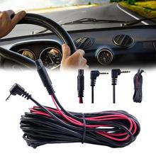 5 5M Car Rear View Parking Backup Camera Video Reverse Camera Cable Cord Vehicle Rear View Parking Video Extension Line Public tanie tanio siparnuo Plastic Wire ACCESSORIES Vehicle Rear View Camera Copper-clad Aluminum Wire black QYP0463
