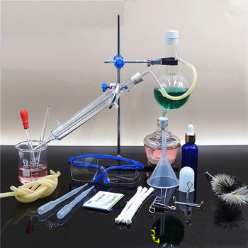 Home DIY Small Distillation Device Kit Chemical Experiment Equipment For Oil extracting And Flower Water production