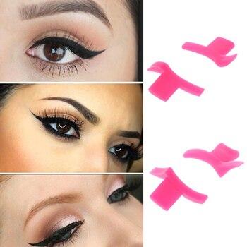 1Pair Cat Eye Eyeliner Stamp Style Eyeshadow Cosmetic Easy To Makeup Wing Tools