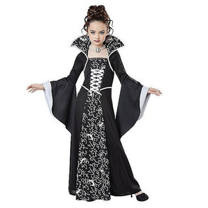 Image 3 - Halloween Costume Scary Witch Vampire Cosplay Childrens performance Masquerade Dress Evening Party Carnival Ball Gowns for Girl