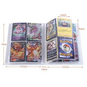 240 шт. держатель карты покемон альбом с рисованным Аниме Новый карточная игра VMAX GX усилительный насос EX держатель коллекция папка классная детская игрушка в подарок