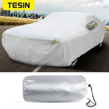 TESIN Car Cover for Car Body Sun Rain Dustproof Waterproof Protect Cover Anti-snow Accessories for Dodge Challenger 2010+