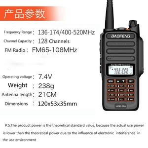 Image 2 - جديد 2021 baofeng uv 9r ERA زائد IP68 مقاوم للماء اسلكية تخاطب طويلة المدى 30 كجم سيارة cb هام راديو hf جهاز الإرسال والاستقبال UHF محطة راديو