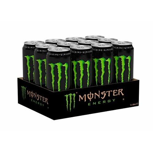 Monster Energy Lattina, Energy Drink, Energia, Eccitante, Con Taurina E Caffeina 0,5 L