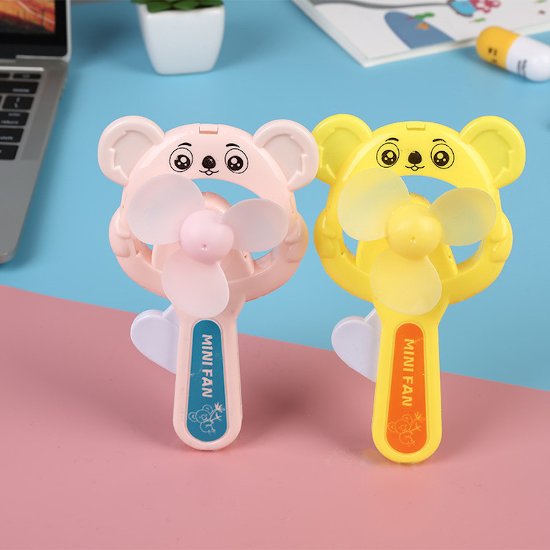 Cute Fan Portable Handheld With Rechargeable Built-in Battery  USB Port Handy Air Cooling Mini Fan For Smart Home