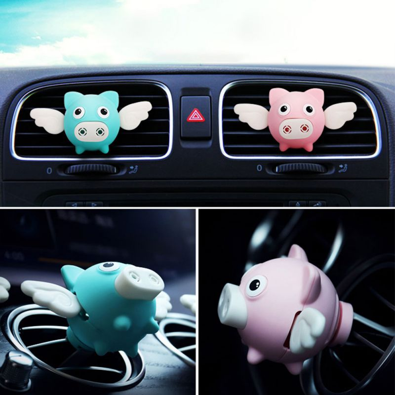 Freshener Diffuser Aroma-Clip Perfume Decoration-Ornaments New Flying-Pig Car-Air-Outlet