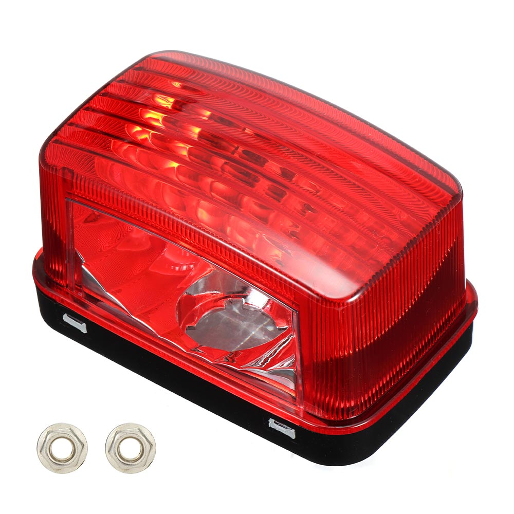 KEMIMOTO Red Tail Light Lens Cover Housing Shell For Yamaha Grizzly Big Bear Kodiak Wolverine Viking 2013