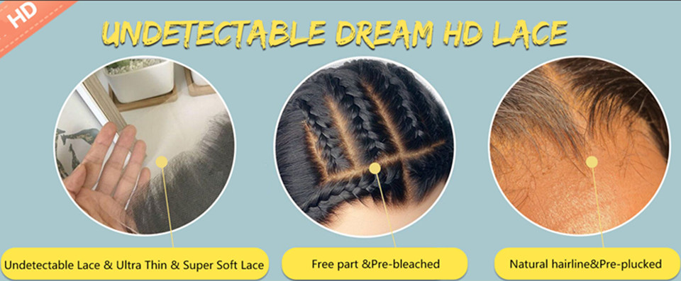 undetectable dream hd lace wig