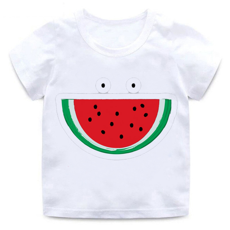 Watermelon T-shirt For Infant Cute Baby Summer Casual Fashion T Shirt Toddler Cool Streetwear T Shirt Children Kids Clothing