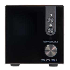 Image 5 - SMSL SA300 HiFi wzmacniacz mocy cyfrowy wzmacniacz dźwięku Bluetooth 5.0 32bit/384kHz Subwoofer z pilotem niebieski i czerwony i czarny