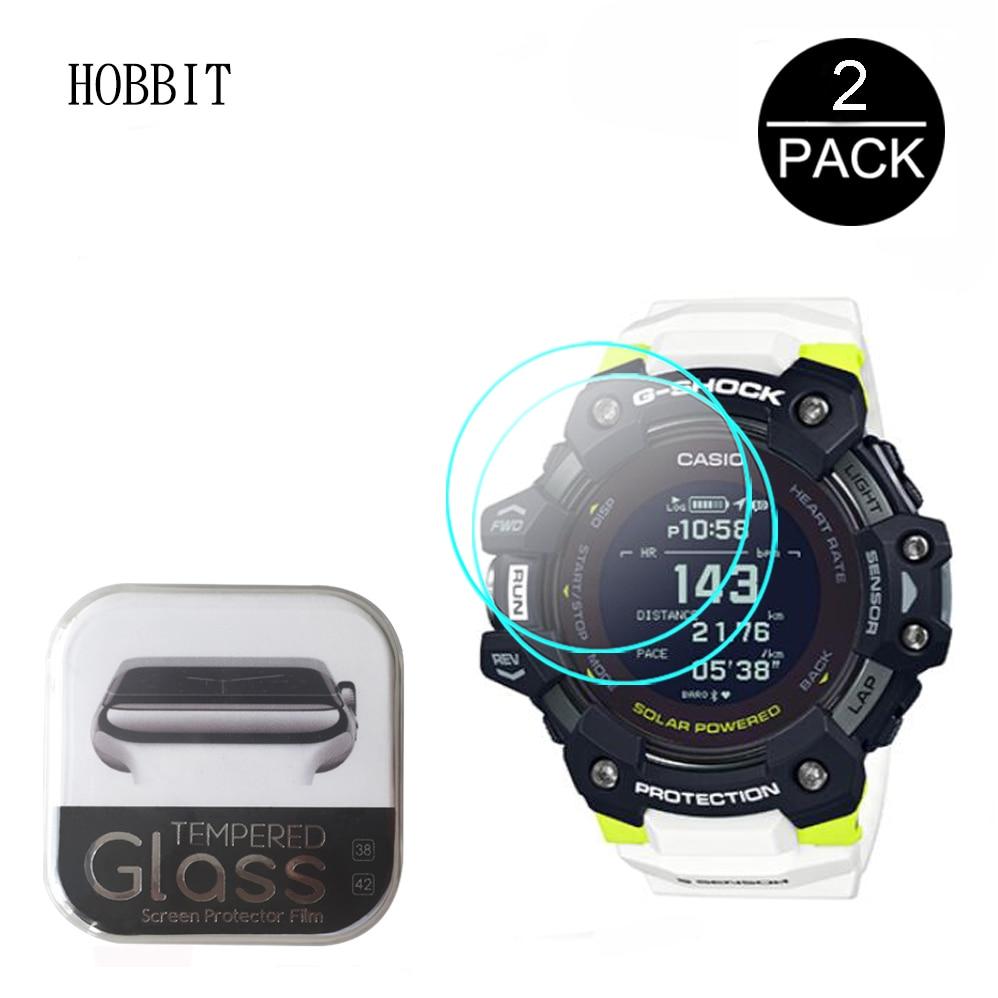 2Pcs Tempered Glass For Casio G-SHOCK GBD-H1000 1A7PR 1PR 4PR 8PR Watch HD 2.5D 9H Anti-Scratch Screen Protector Easy Install