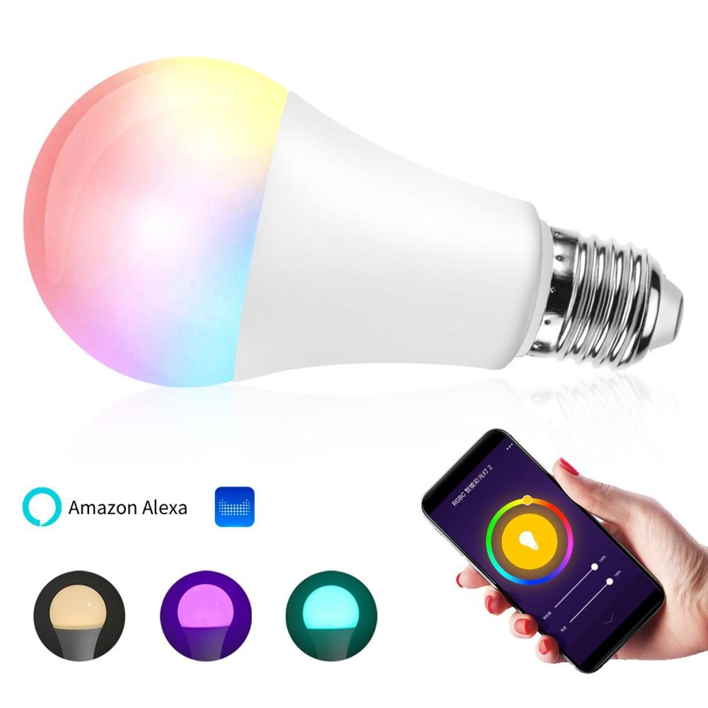 ODM Voice Smart Wifi Bulb Ball Bulb LED Support Mobile Phone Remote Control LED Lights For Google Home Amazon Alex