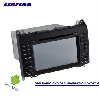 Liorlee Car Android Navigation For Mercedes Benz A Class W169 A150 A160 A170 A180 A200 Radio Stereo CD DVD Player GPS Multimedia image