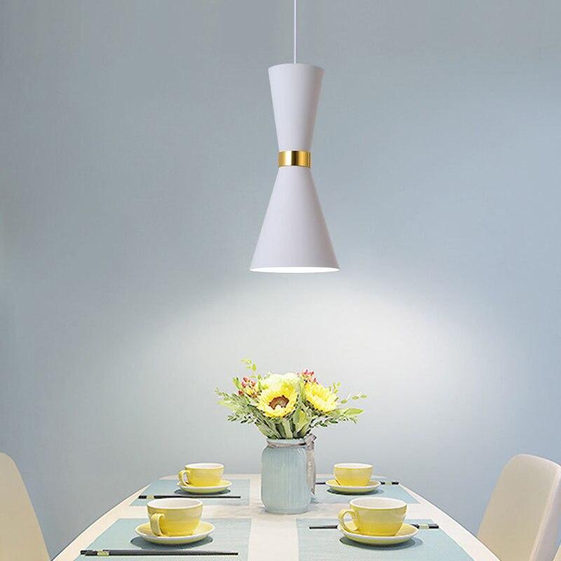Lampe suspendue au design moderne, luminaire décoratif d'intérieur, idéal pour une Table à manger ou une cuisine