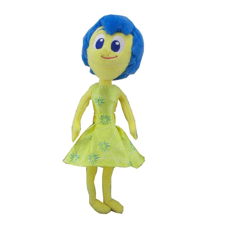 Inside Out Plush Dolls Joy Sadness Anger Fear Talking Plush Emotional Figures