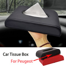 Case Car-Badge-Tissue-Box Sun-Visor for Peugeot 308/408/508/.. 1pcs Towel-Sets Latest