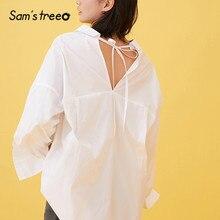 camisas costas único Samstree