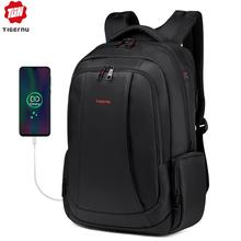 Tigernu מותג גברים של נשים USB תשלום תרמיל 15.6 אינץ מחשב נייד תרמילי בית ספר תיק תרמילי עבור בני נוער מקרית המוצ ילה
