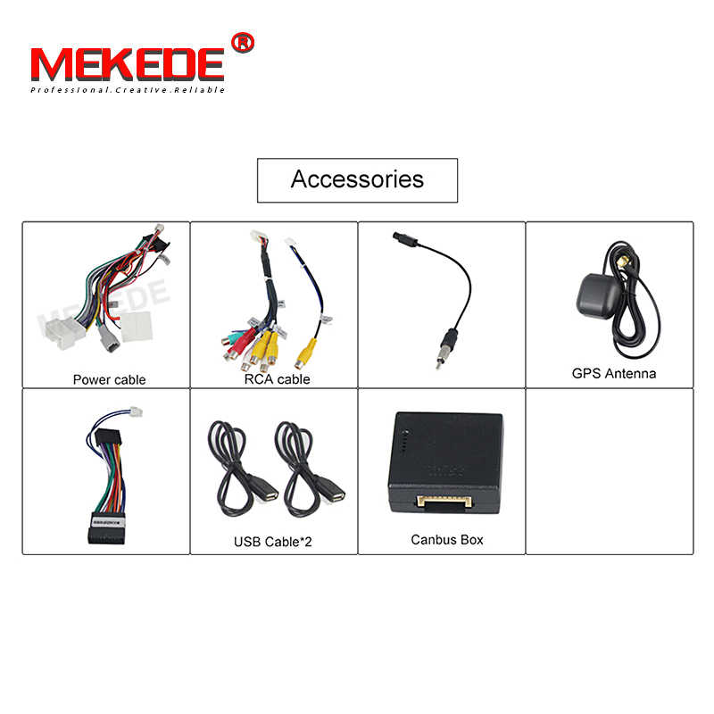 MEKEDE רכב מולטימדיה נגן אנדרואיד 9 DSP Automotivo 2 Din עבור Dacia/Sandero/הדאסטר/רנו/Captur /לאדה/Xray 2/לוגן 2 32G ROM