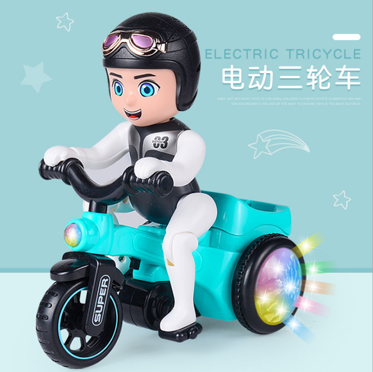 CHILDREN'S Toy Boy Car Electric Stunt 1-3 Years Old 2 Excluded Tricycle Small Other Toys Baby Girls BOY'S
