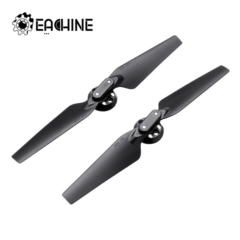 Original Eachine EX4 2Pcs Propeller Props Blades Set Quick Release Foldable  RC Drone Quadcopter Spare Parts