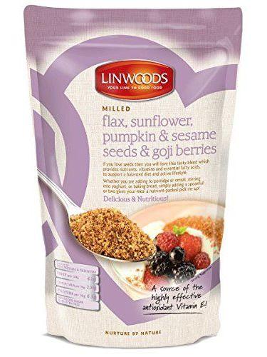 Linwoods Ground Flax Sunflower Pumpkin & Sesame Seeds & Goji Berries - 8 Oz By Linwoods