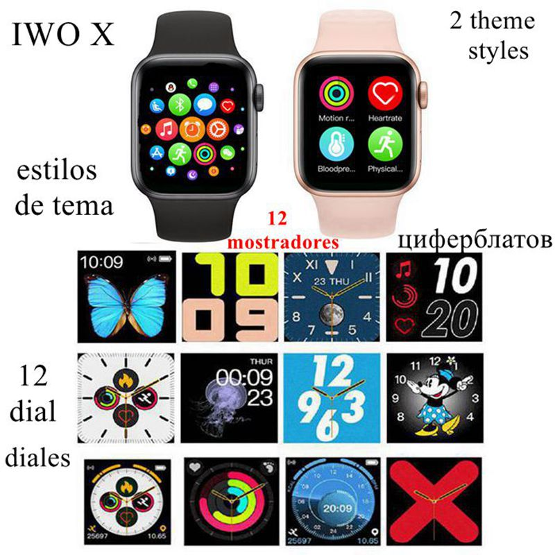 <font><b>IWO</b></font> Smart Watch Bluetooth Make/Answer Call Receive/Send Messages Replaceable 42/<font><b>44mm</b></font> <font><b>SmartWatch</b></font> for IOS Android VS <font><b>IWO</b></font> <font><b>8</b></font> <font><b>IWO</b></font> 10 image