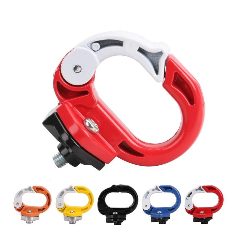 E-Bike Motorcycle Refit Accessories Helmet Safety Helmet Hook Luggage Bag-Open Mouth O Hook Aluminum CN
