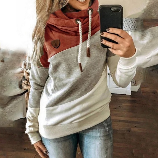 Leopard Hooded Sweatshirt Drawstring pullovers 4
